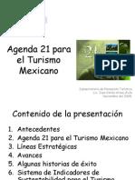 4. Agenda 21 Para El Tursmo Mexicano