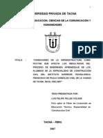 tesisinfraestructura