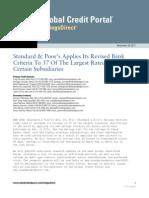 Rabobank S&P Rating 29 november