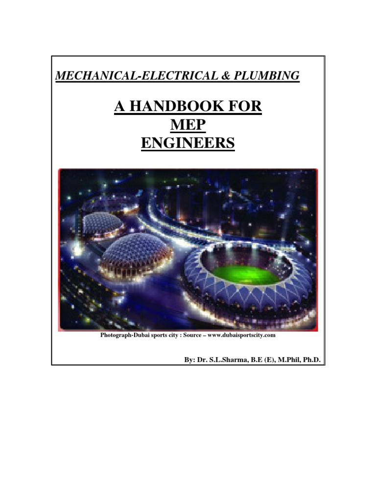 MEP Manual | Electrical Wiring | Specification (Technical Standard)