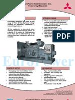 EuroPower Mitsubishi Generator Sets