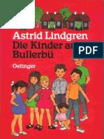 Lindgren, Astrid - Die Kinder Aus Bullerbue