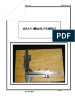 Gear Measurement