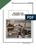 Machine Tool Testing