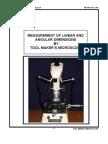 Tool Makers Microscope