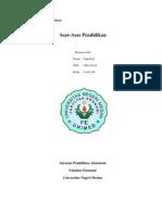 Asas-asas Pendidikan