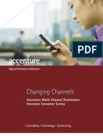 Accenture Multi Channel Distribution Insurance Consumer Survey