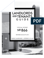 Landlord&TenantGuide TexasA&M Aug2011 Report# 866