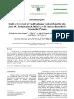 Evaluare Poluare Cu Metale Grele La Baia Mare