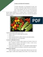 Zonarea legumelor