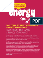 Tweedgreen Challenge - Energy