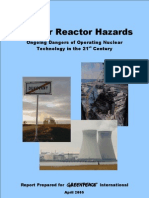 Nuclear Reactor Hazards