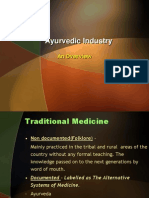 Ayurvedic Industry