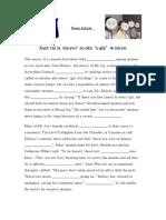 AFTERNOON EFL-Current Events Worksheet