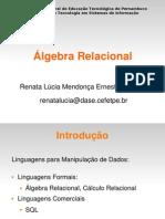 aula8-AlgebraRelacional