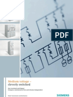 Siemens MV Gas Insulated Switch Gear