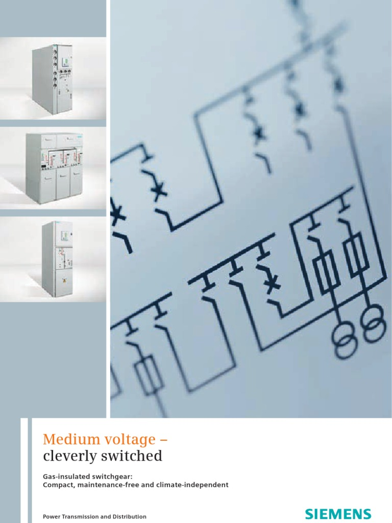 Siemens MV Gas Insulated Switch Gear | Electrical Components