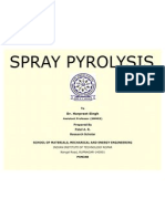 Spray Pyrolysis