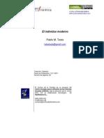 Individuo Moderno Archivo de La Frontera