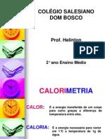 slides calorimetria 2º ano
