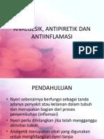 (2) Analgesik Antipiretik Dan Antiinflamasi