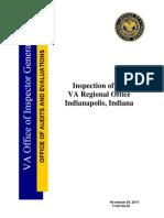 VAOIG Indianapolis RO Inspection