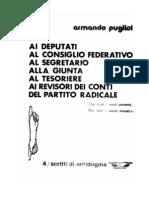 Al Partito Radicale (Armando Puglisi - 1976)