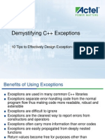 Demystifying CPP Exceptions