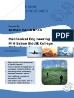 Non Traditional Machining Processes by Arshad Habib Khan
