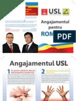 Angajamentul USL Pentru Romania