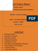 Online Exam system(shoyab siddiquee)End Term Project Report