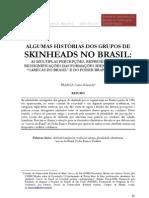 Algumas histórias dos grupos de skinheads no Brasil
