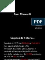 Caso Microsoft