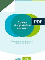 Permanence des Soins des Etablissements de santé (Schéma Régional IDF)