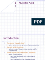 Lecture 6' - Nucleic Acid Structure