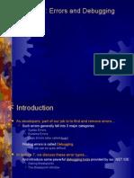 Lecture 7 - Debugging and Break Mode (VB 2008)