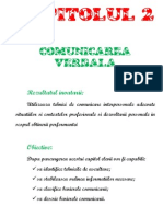 Comunicarea Verbala