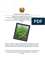 Reserch on Essential Value Chains Fro Small Holder Producers in Zambezi Valley.[1]