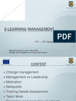 E Learning Management