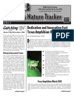 Texas Nature Tracker Fall 2011 Issue