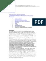 Mecanismos Nacionales de Proteccion de Los Ddhhvenezuela