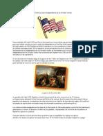 Características de la independencia de los Estados Unidos