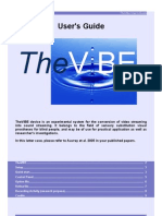 Thevibe Users Guide