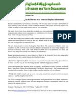 Shweli River Under Seige Report Press Relaes english
