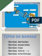 BANDAS Y POLEAS