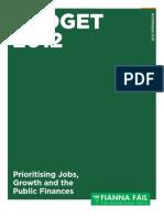 FF Pre Budget Proposals