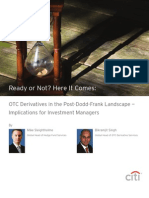 OTC Derivatives in the Post-Dodd-Frank Landscape, Citi July11