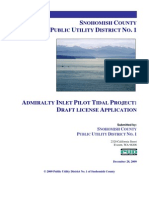 Admiralty Inlet Pilot Tidal Project
