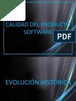 Calidad de Producto de Software