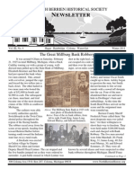 Winter 2011 Newsletter - North Berrien Historical Society